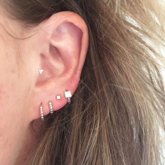 Kleine Ohrringe