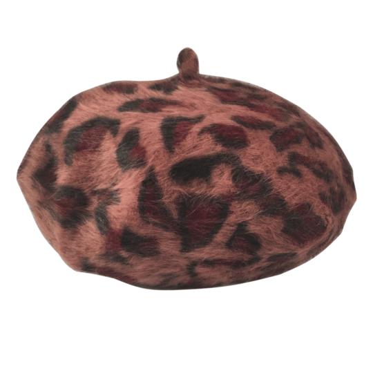 Alpino baret leopard
