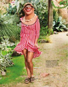 Publicatie: 100% NL Magazine (juli / aug 2018) Foto: © 100% NL Magazine Product: Cowry shell ketting