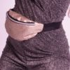 FANNY PACK GOLD GLITTER CLOSE