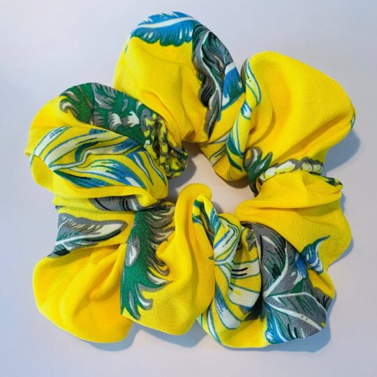 SCRUNCHIE PINEAPPLE YELLOW