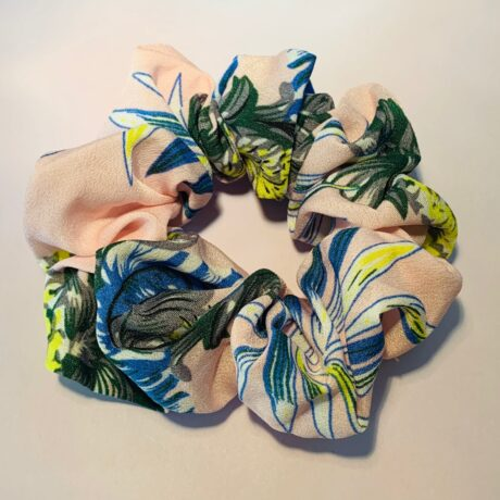 SCRUNCHIE PINEAPPLE PINK
