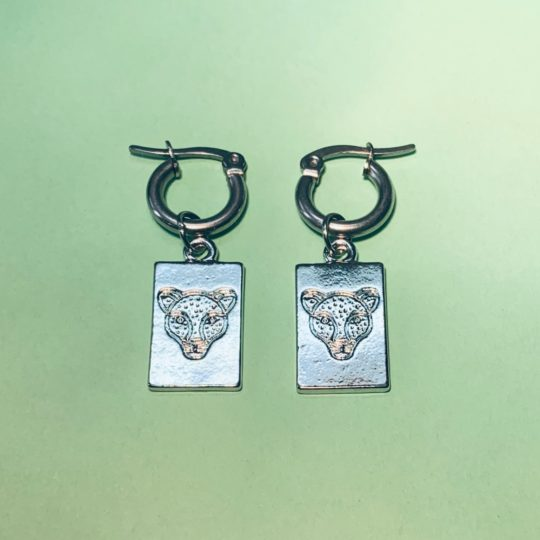 HOOPS TIGER HEAD SILVER