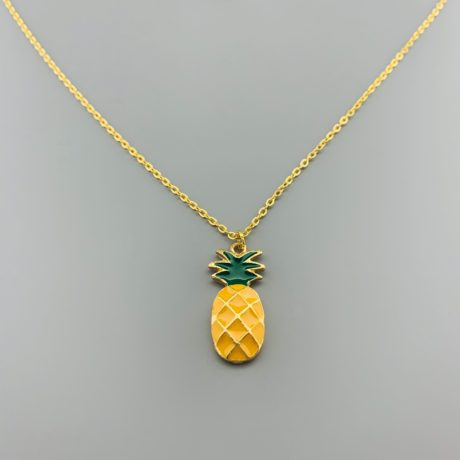 ANANAS KETTING STAINLESS STEEL