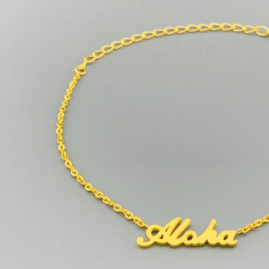 ARMBANDJE ALOHA GOUD CLOSE