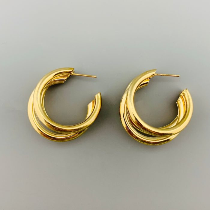 TRIPLE HOOPS GOUD