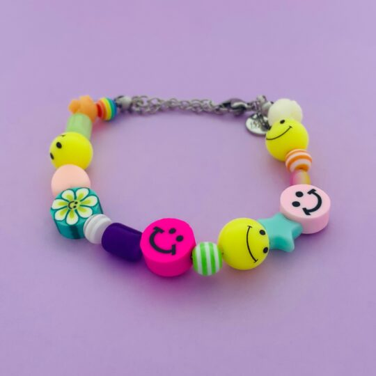 ARMBANDJE FUNKY SMILEY