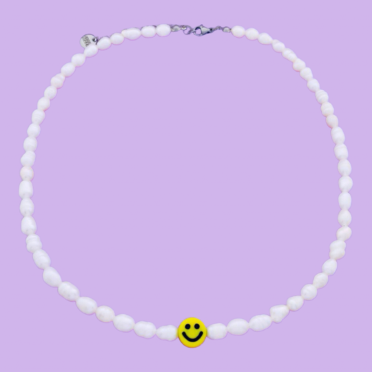 PARELKETTING ZOETWATER PARELS SMILEY