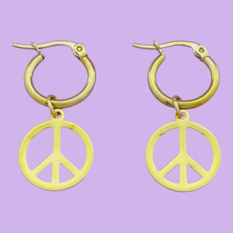 PEACE OORRINGEN GOUD